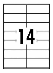 OFFICE CLUB LABELS 99.1x38.1mm 14up(100) ORDER 5 BOXES OR MORE FOR BULK DISCOUNT!!