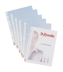 ESSELTE POCKETS A4 MEDIUM (100) ORDER 5 BOXES OR MORE FOR BULK DISCOUNT!!
