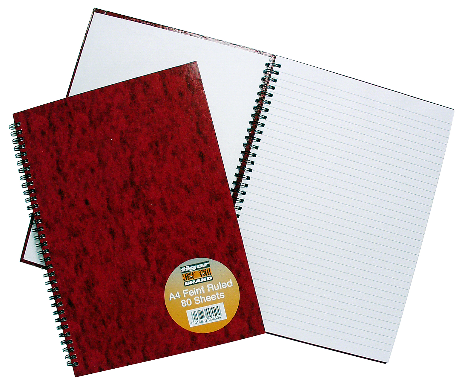 TIGER BRAND WIREBOUND NOTEBOOKS