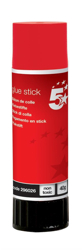 5 Star Glue Stick Solid Washable Non-toxic Large 40g