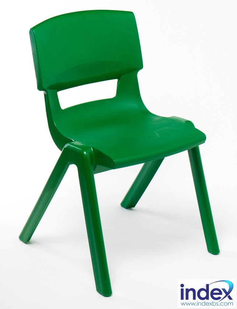 Postura Plus Chair Size 3 - 350mm (7-9 Yrs) Forest Green