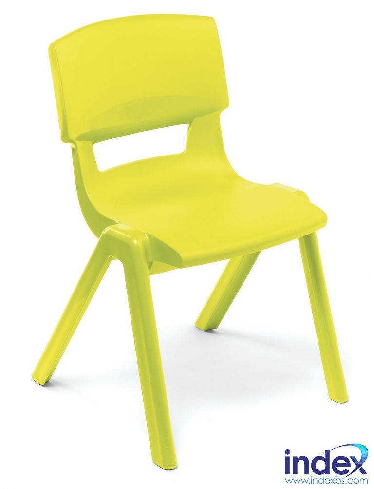 Postura Plus Chair Size 4 - 380mm (9-11 Yrs) Lime Zest