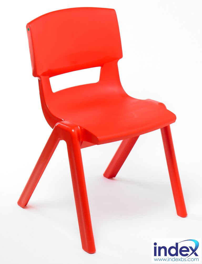 Postura Plus Chair Size 5 - 430mm (11-13 Yrs) Poppy Red