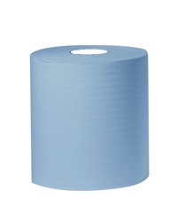 CENTRE FEED ROLLS 2ply BLUE (330sheets)