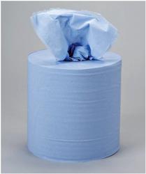 5 Star Centrefeed Tissue Refill for Dispenser Blue Two-ply 150m [Pack 6]