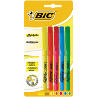 Bic Brite Liner Highlighter Assorted Buy 1 Get 1 Free BC810717