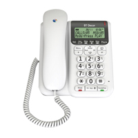 BT Decor 2500 Corded Analogue Telephone