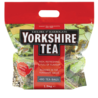 Yorkshire Tea Tea Bags (Pack of 480 Tea Bags)