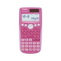 Casio Twin Powered Scientific Calc Pink