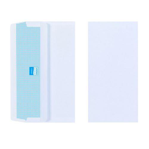 Initiative Envelope DL Self Seal Plain Banker 80gsm White Pack 1000