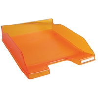 Linicolor Letter Tray Tangerine 11346D
