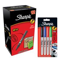 Sharpie W10 Marker wih Fine Pk4 FOC