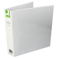Q-Connect Presentation 4D-Ring Binder 40mm A4 White (Pk 6) KF01329Q