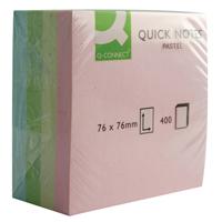 Q-Connect Quick Note Cube 76x76mm Pastel