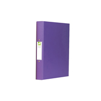 Q-Connect 2-Ring Binder A4 25mm Polypropylene Purple KF01474