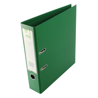 Q-Connect Lever Arch File A4 Polypropylene Green KF20022