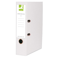 Q-Connect Lever Arch File A4 Polypropylene White
