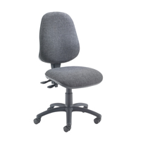 Jemini Plus Deluxe High Back Operator Chair Charcoal KF74122