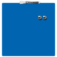 Quartet Magnetic Square Tile Drywipe Board Blue 360 x 360mm 1903873