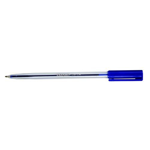 Initiative Ballpoint Pen Medium Blue With Stainless Steel Ball