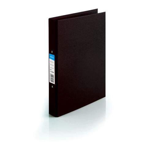 Initiative Polypropylene Coated Board 2 Ring Binder 25mm Capacity A4 Black