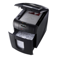 Rexel Auto+ 100M Micro Cut Shredder Black 2104100