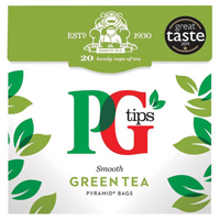 PG Tips Pure Green Tea Pack of 80