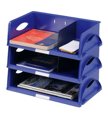 Standard Letter Tray Blue