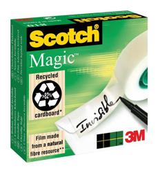 Scotch Magic Tape 25mmx66m Matt Ref 8102566