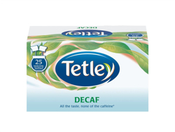 Tetley Tea Bags Decaffeinated Drawstring in Envelope Ref 1285 [Pack 25]