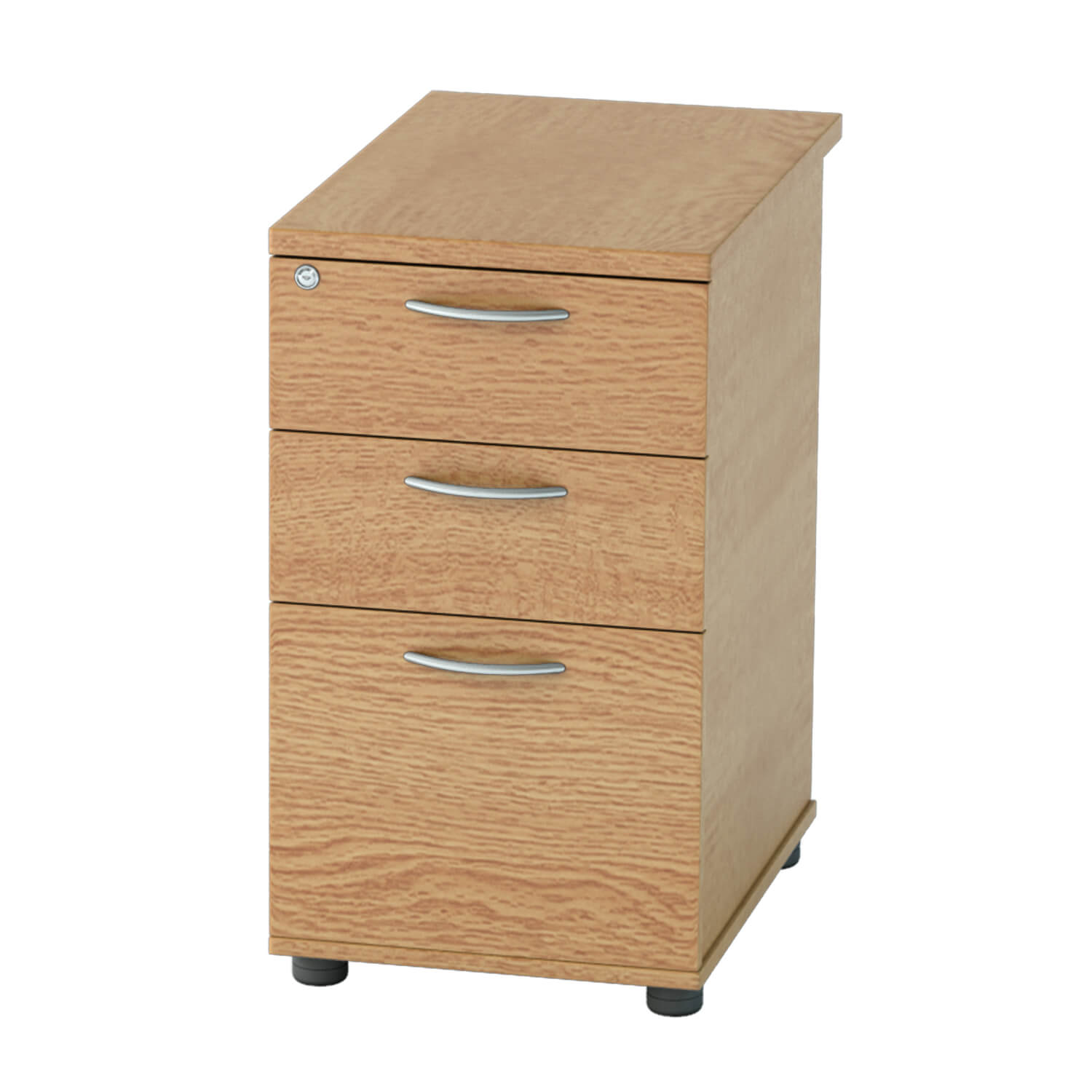 DH Pedestal 3 drawer Light Oak