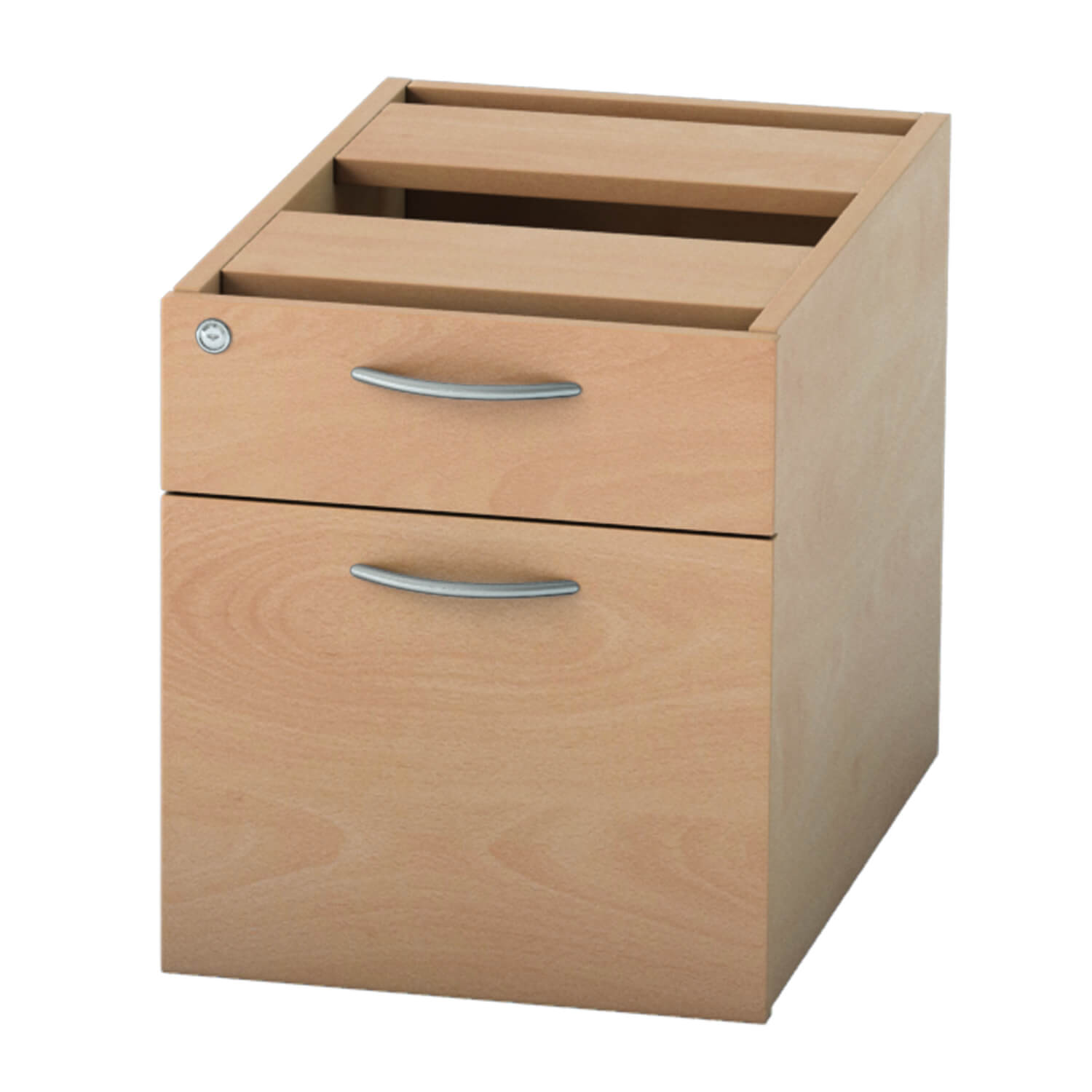 Pedestal 2 drawer Beech