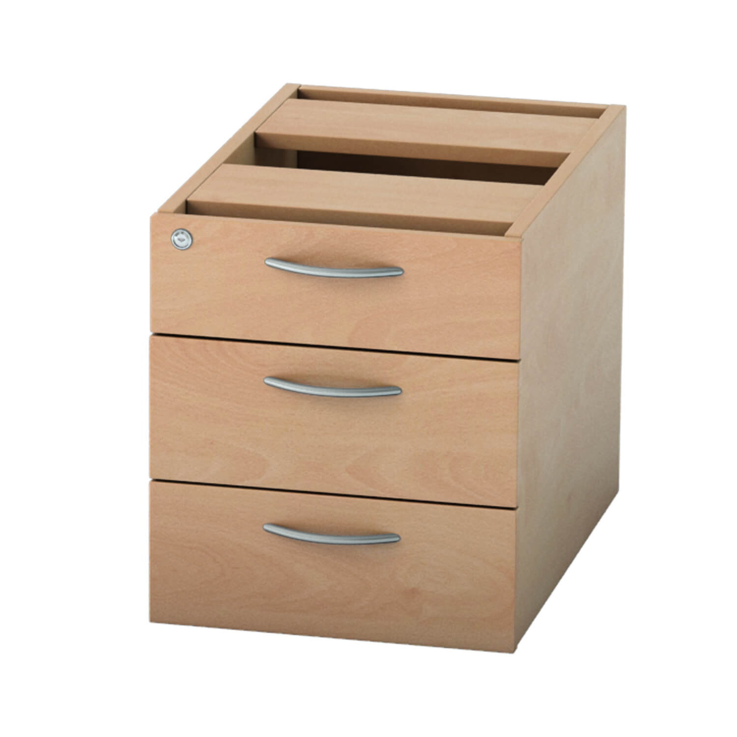 Pedestal 3 drawer Beech