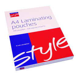 O/Style Laminating Pouch A4 150mic (100)
