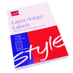 O/Style Labels 99.1x38.1 Sht14 (100)