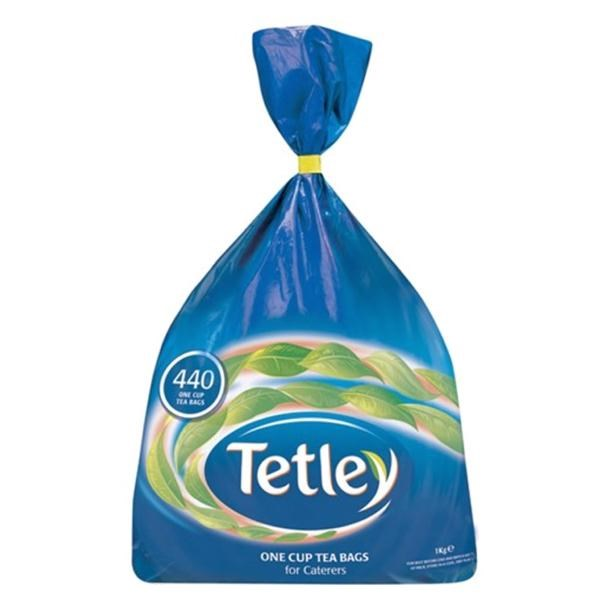 AU03840 Tetley Tea 440's +FOC biscuits
