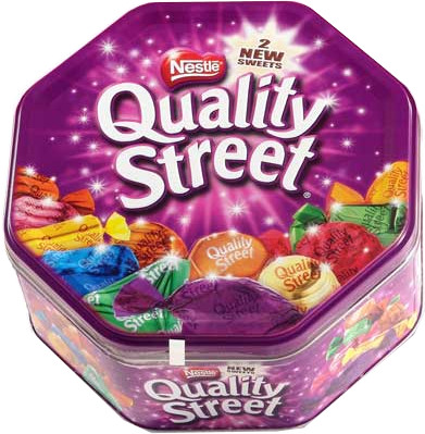 1 TIN OF CHOCOLATES FOR £250+ ORDER