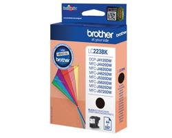 Brother Inkjet Cartridge 11.8ml Page Life 550pp Black Ref LC223BK