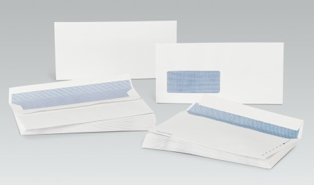 DL Self-Seal Envelopes Plain White x1000