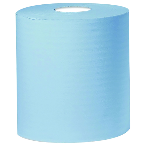 Centre Feed Rolls Blue 2 Ply 150m Pk 6