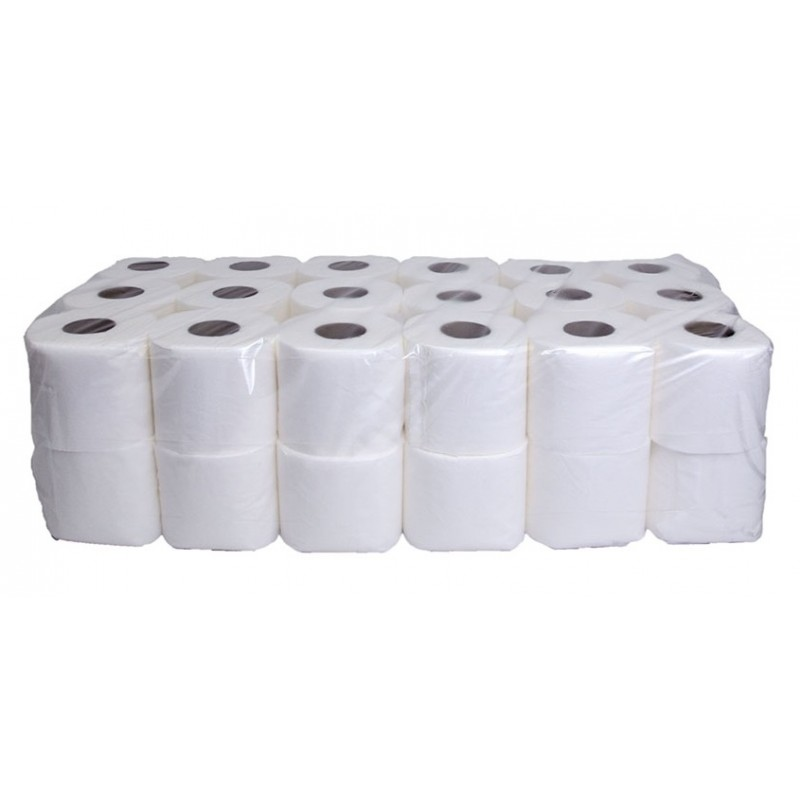 2Ply Luxury White Toilet Rolls x40 10106