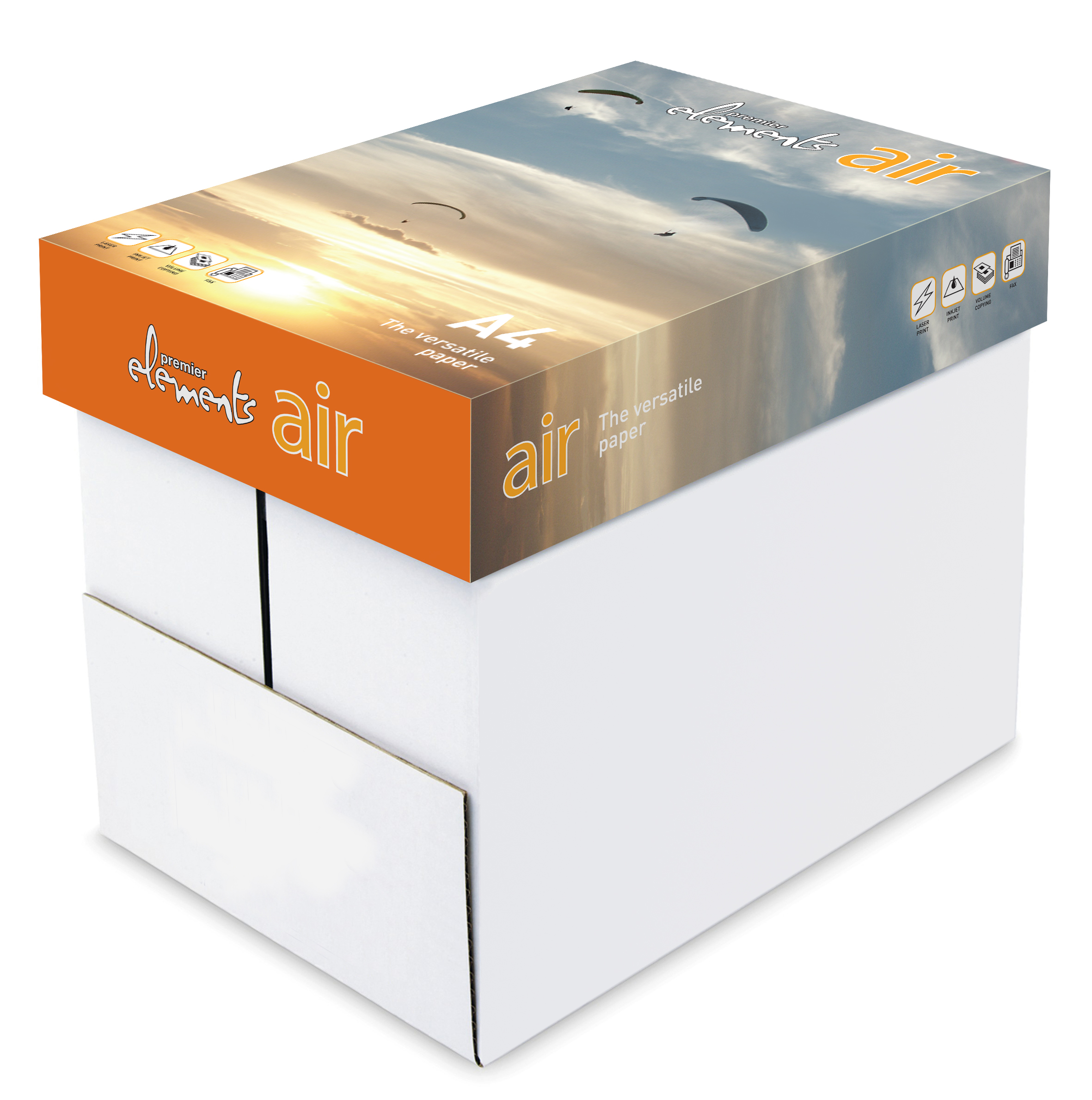 Premier Elements Air A4 White Business Paper Box 2500