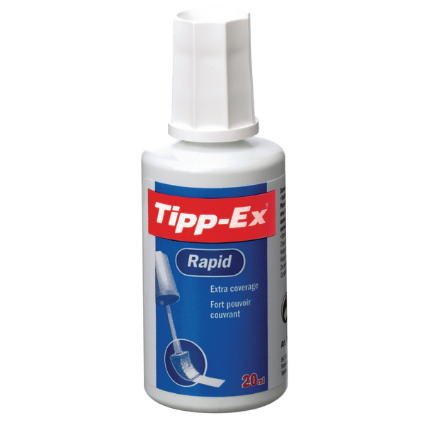 Tippex Rapid Fluid 20ml White 887159