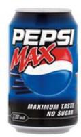 Pepsi Max 330ml Can Pk 24 3387