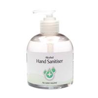 2Work Hand Sanitiser Pump 300ml Pk6