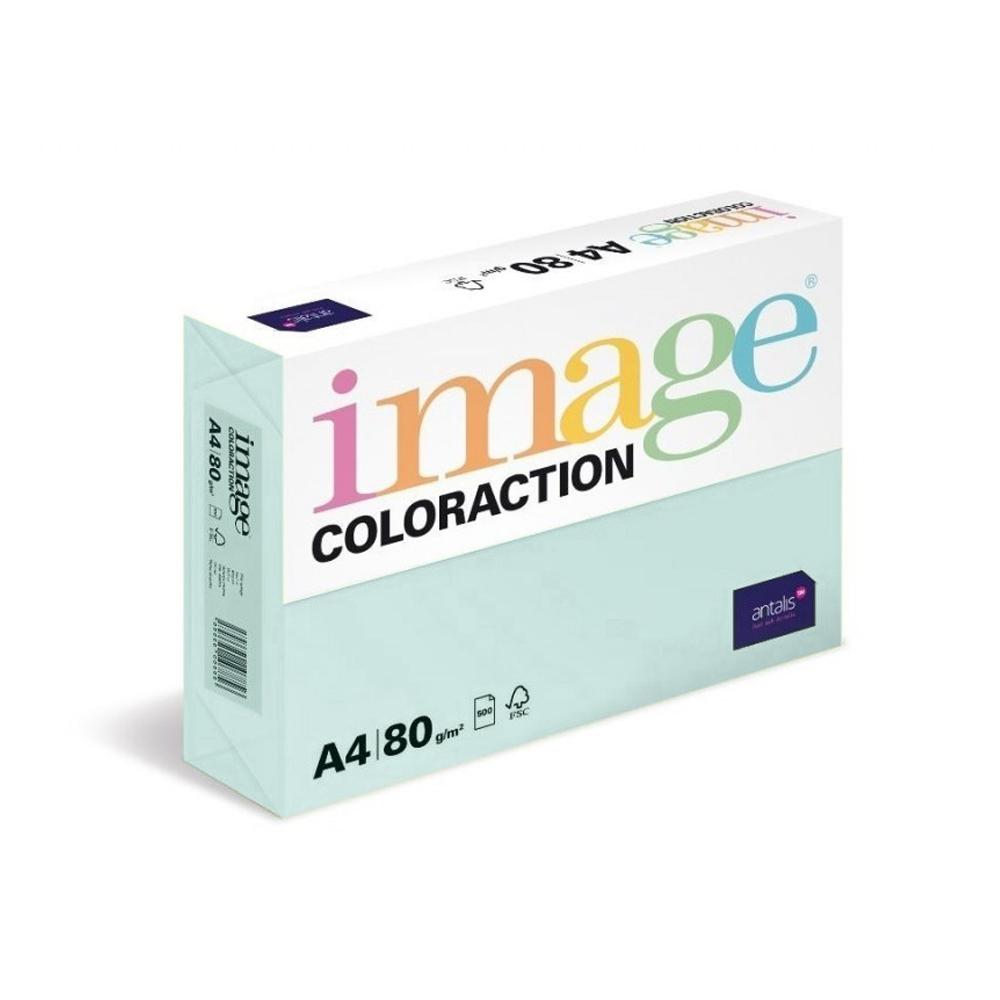 Coloraction Pastel Blue A4 80gsm 89601