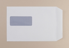 02025 C5 White S/S Window Envelope BX500