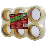 Scotch Low Noise Clear Tape 48mm x66m 3707