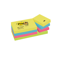 Post-it Notes 38 x 51mm Energy Colours 653TF Pack of 12