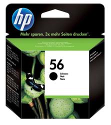 Hewlett Packard [HP] No. 56 Inkjet Cartridge Page Life 520pp 19ml Black Ref C6656AE